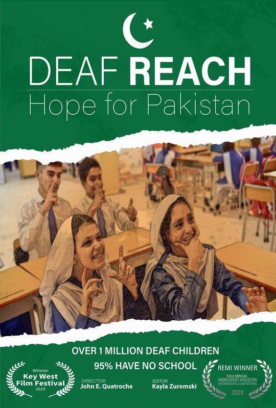 """Deaf Reach: Hope for Pakistan"" by John E. Quatroche II from United States"