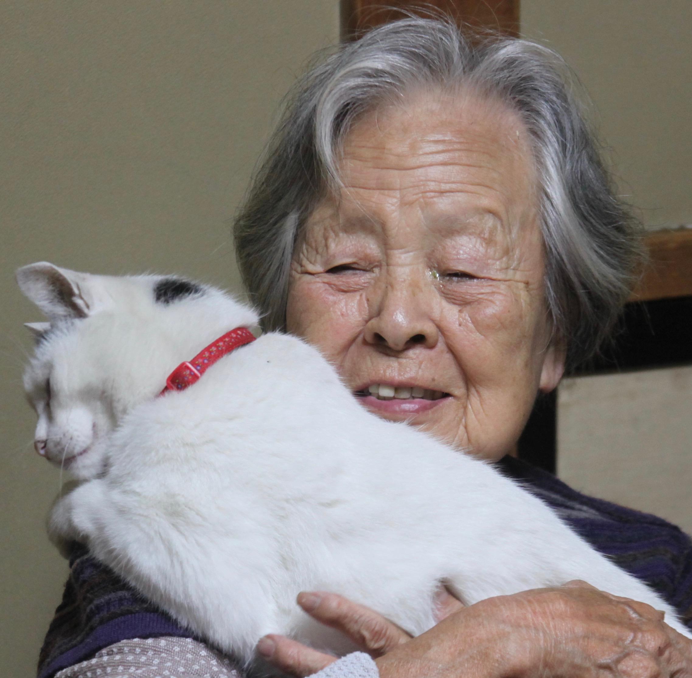 おばあちゃんとナナ