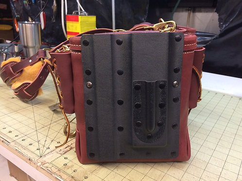 KYDEX AND LEATHER SQUARE, LEVEL, AND SHARPE HOLDER