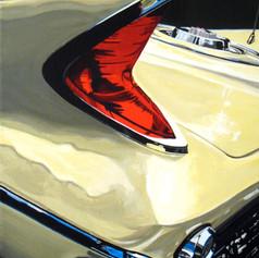 Saratoga Light - acrylic on canvas - 12 x 9 in.