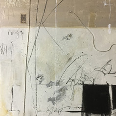 William S 64 - mixed media on canvas - 24 x 18 in.