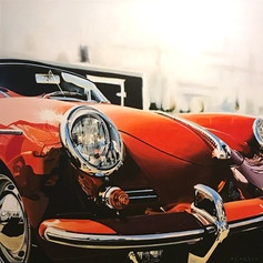 CODA Speedster - acrylic on canvas - 48 x 48 in.