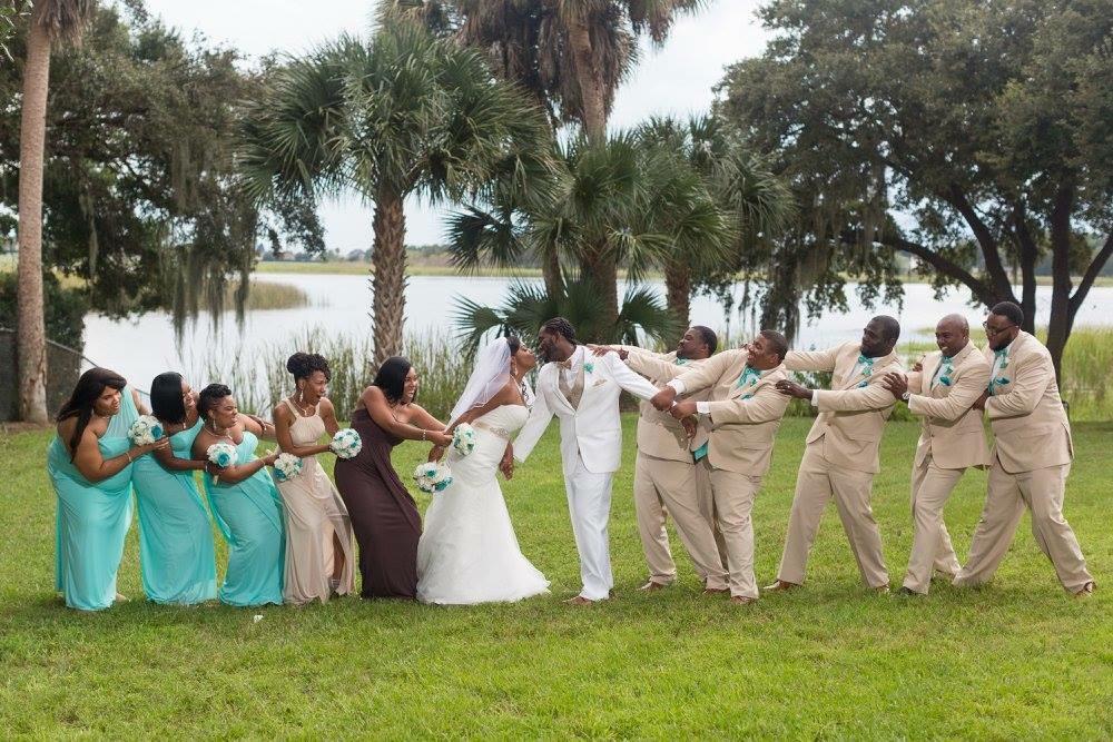 Atkins Wedding Party