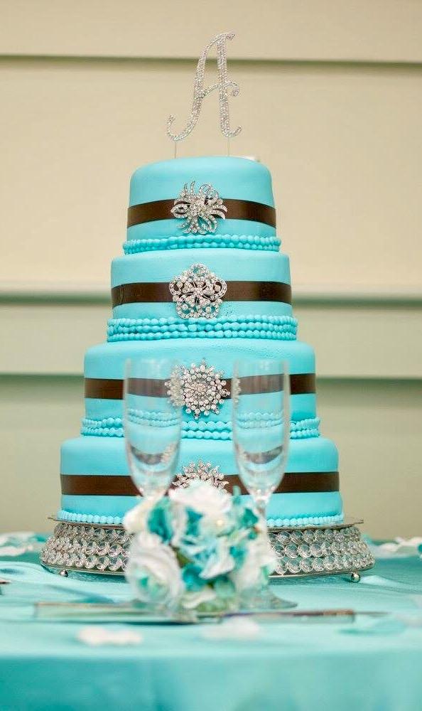 Atkins Wedding Cake