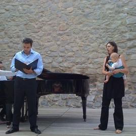 Festival Aix avec Julien Behr, Nicolas Krüger et Emma de Negri