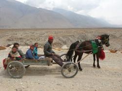 Tibet en route pour l'école