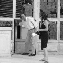 Répétition festivla Aix avec Yves Beaunesne