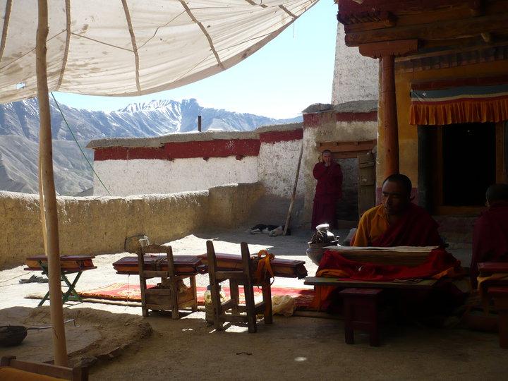 Temple au Zanskar
