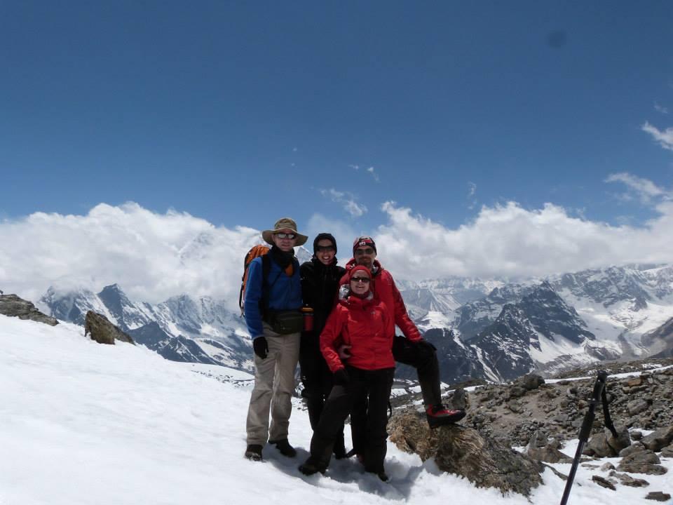 avec Philippe, Hélène et Gilbert