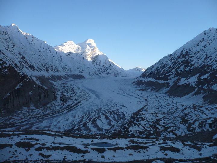 Glacier du Nun et Kun