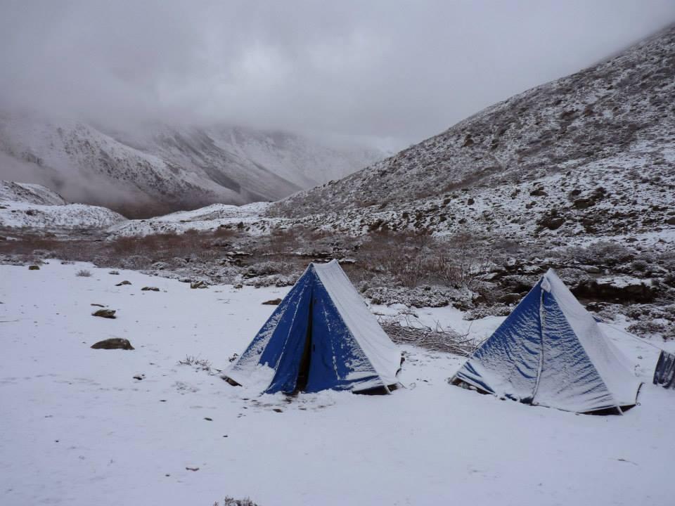 Tibet les nuits sont fraiches ...