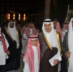 جانب من لقاء معالي الوزير عادل الجبير