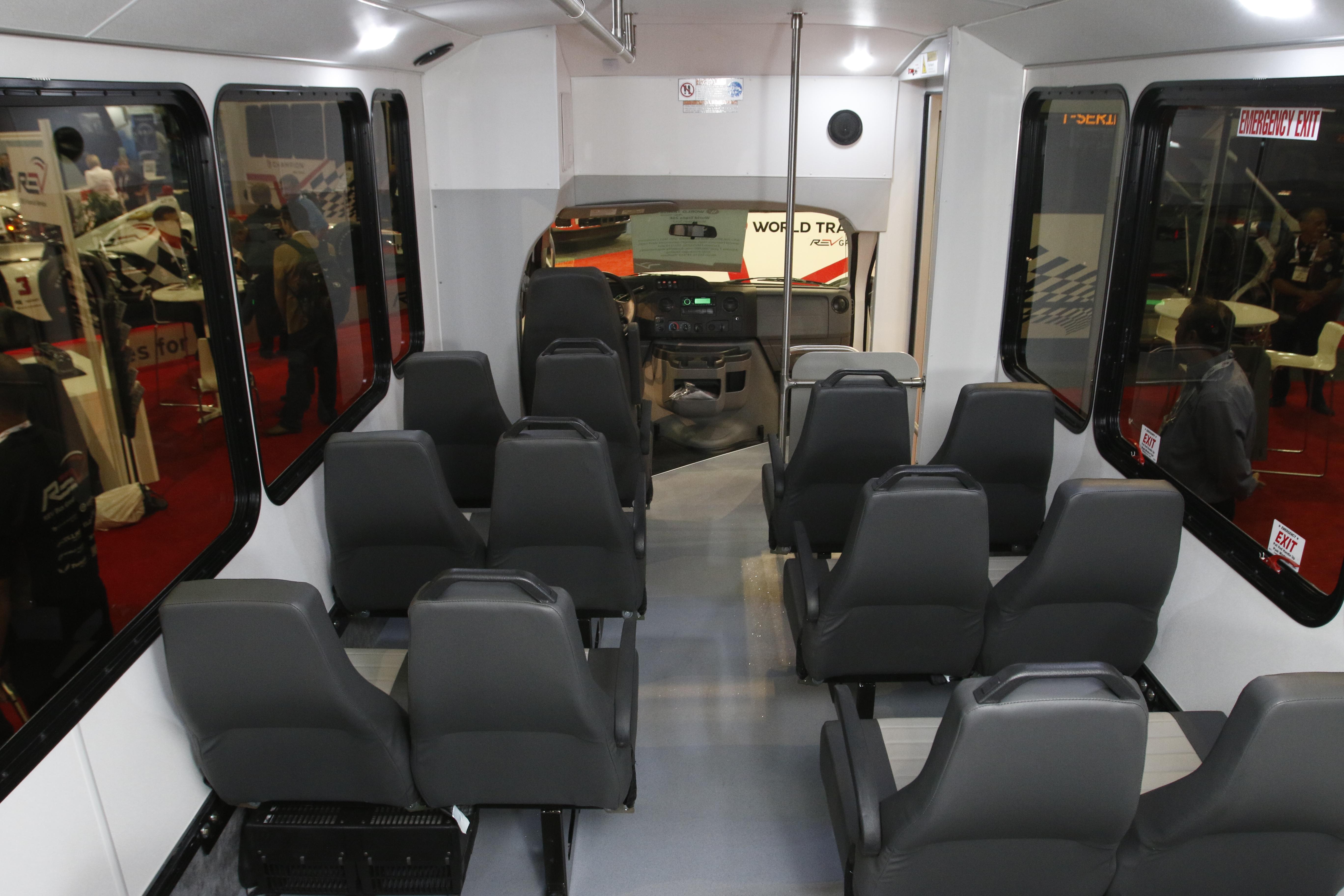 Helium Seat - HSM - Van/Bus Seat