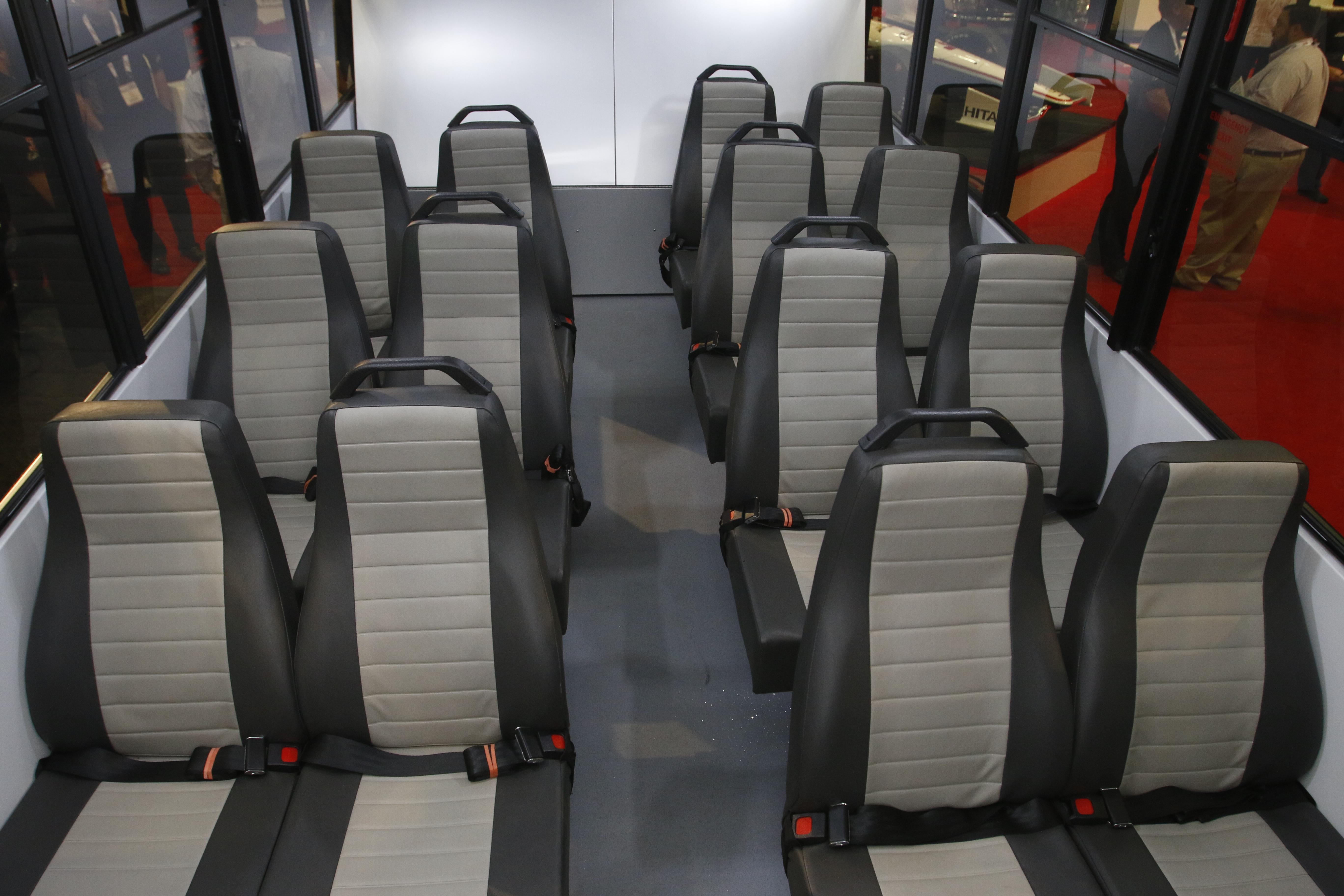 HSM Helium Seat - Van/Bus Seat