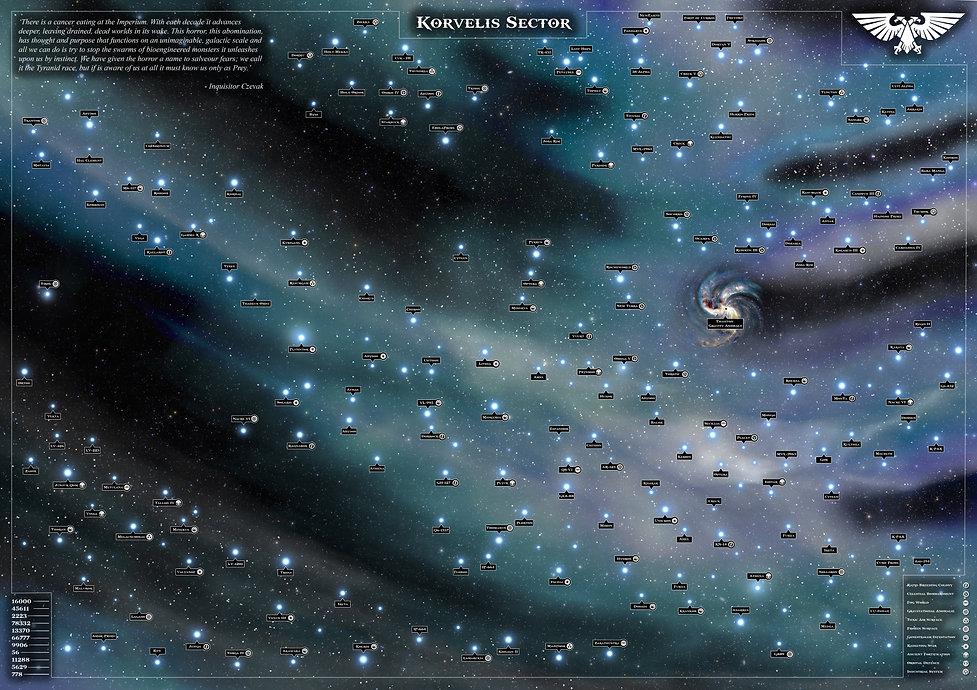 Warhammer 40.000 Starmap
