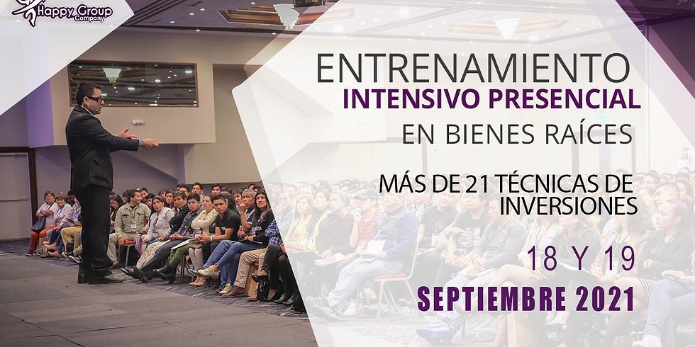 Entrenamiento Intensivo Presencial En Bienes Raíces Lima 2021