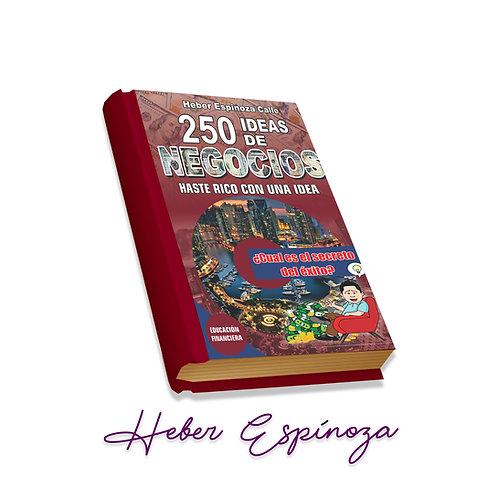 E-Book  250 Ideas de Negocios