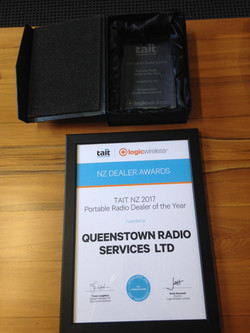 Portable Radio Dealer of the Year 2017