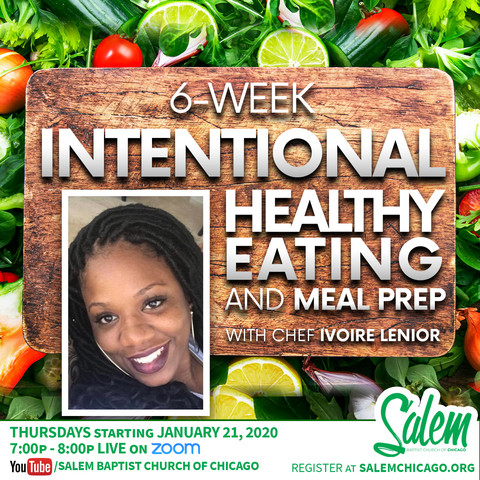 Intentional Healthy Eating + Meal Prep