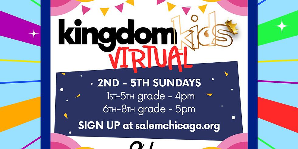 Kingdom Kids Virtual 6th-8th Grade