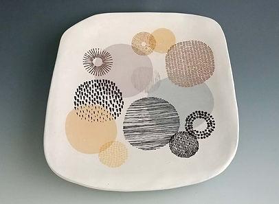 Retro Circles Platter