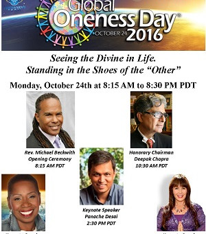 7th Annual Global Oneness Day