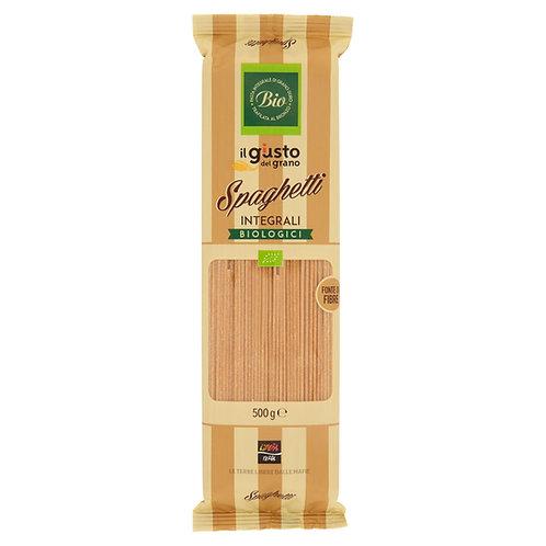 Wholemeal Spaghetti Pasta, Organic, 500g