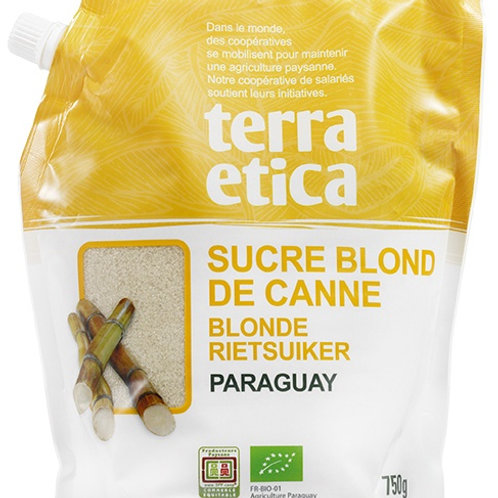 Organic Blond cane sugar powder, Paraguay, 750g