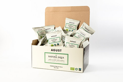 Natura Equa Coffee pods, ESE 44mm, 7g each, 50 pods in a box