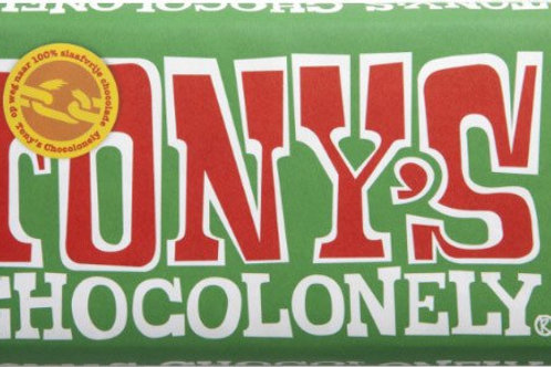Tony's Chocolonely, Milk chocolate with hazelnuts,180g