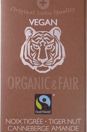 Organic Dark chocolate with tiger nut, 100g