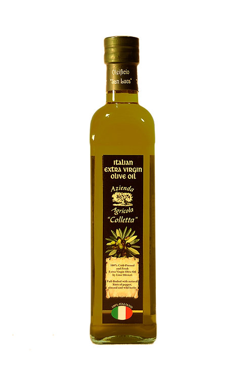 500ml Glass Bottle,Marasca, Olivieri's Extra Virgin Olive Oil