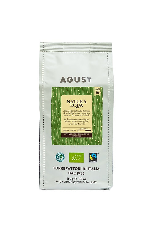 4 packs of Natura Equa Coffee ground, 250g, Organic and Fairtrade