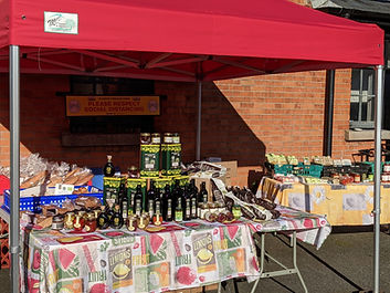 Stall of Olivieri's Fine Italian Foods,