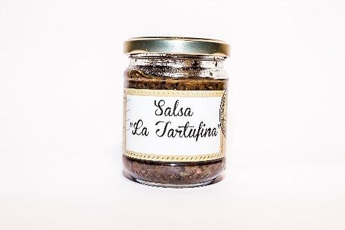 "Dark Truffle Sauce,"" La Tartufina "", 180g"