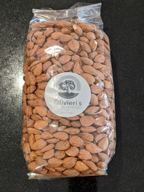 Raw Almonds bag, 1kg, from Puglia, South Italy