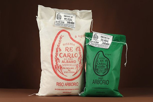 Arborio rice from Riseria Re Carlo, Italy, 1kg