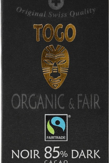 Organic Dark 85% cocoa, Togo, 70g