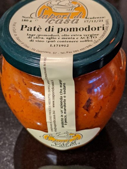 Sun-dried Tomatoes pate with Extra Virgin Olive Oil, 180g
