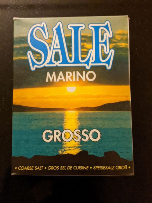 Coarse Sea Salt from Italy, 1kg