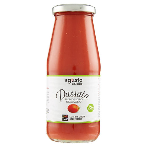 Passata made with 100% Italian ripen tomatoes, Organic, 500ml