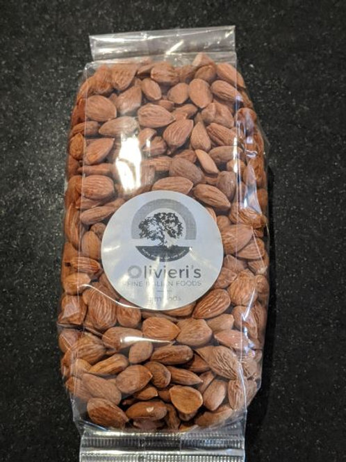 Raw Almonds bag, 550g, from Puglia, South Italy
