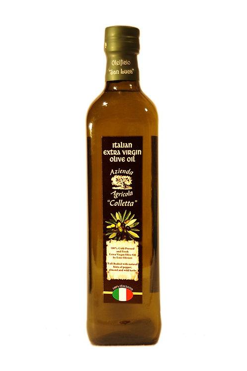 750ml Glass, Marasca, Olivieri's Extra Virgin Olive Oil