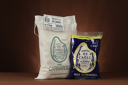 Carnaroli rice from Riseria Re Carlo, Italy, 1kg