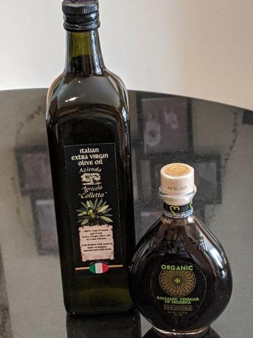 New Season 1lt olive oil & Organic Balsamic