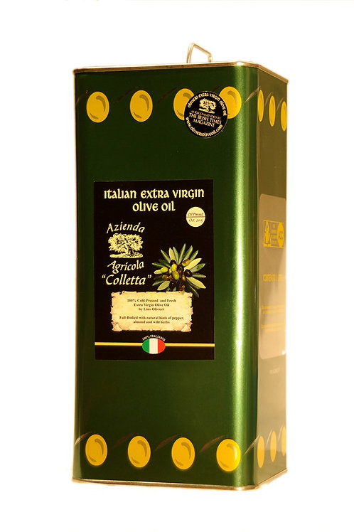 New Season 5lt Can-Drum Oliveri's Extra Virgin Olive Oil