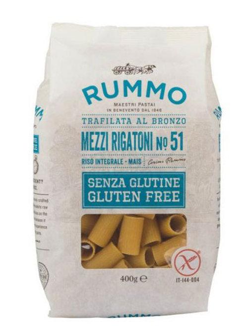 Gluten Free Pasta, Mezzi Rigatoni, 400g