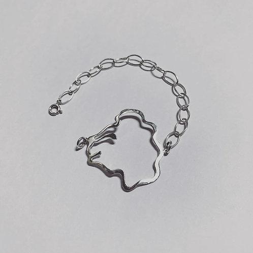 Bracelet en argent°Iam Lion Esnim