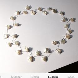#perleduculture #collier #pearl #surcommande #atelier #paris #handmade #design