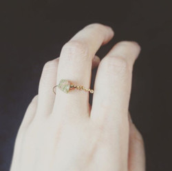 #version2 #pierredabricotier #plaquéor #gold #orjaune #plate #ring #bague #bijoux #jewelry